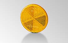 Amber reflex reflectors