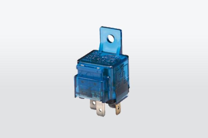 Mini relais contact 24V 4 pin