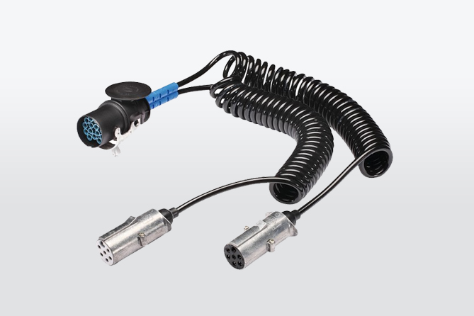 Helical cable adapter