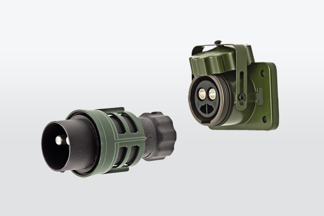 Connectors for special vehicles