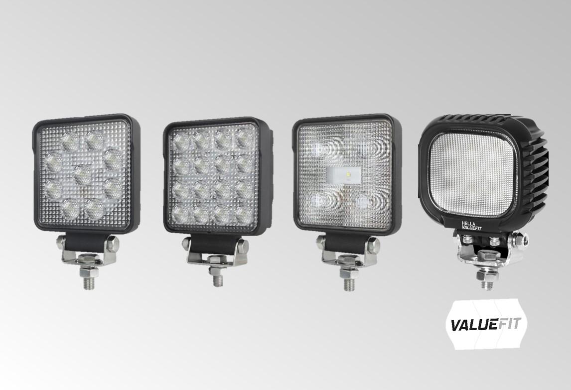 LED ValueFit carrée