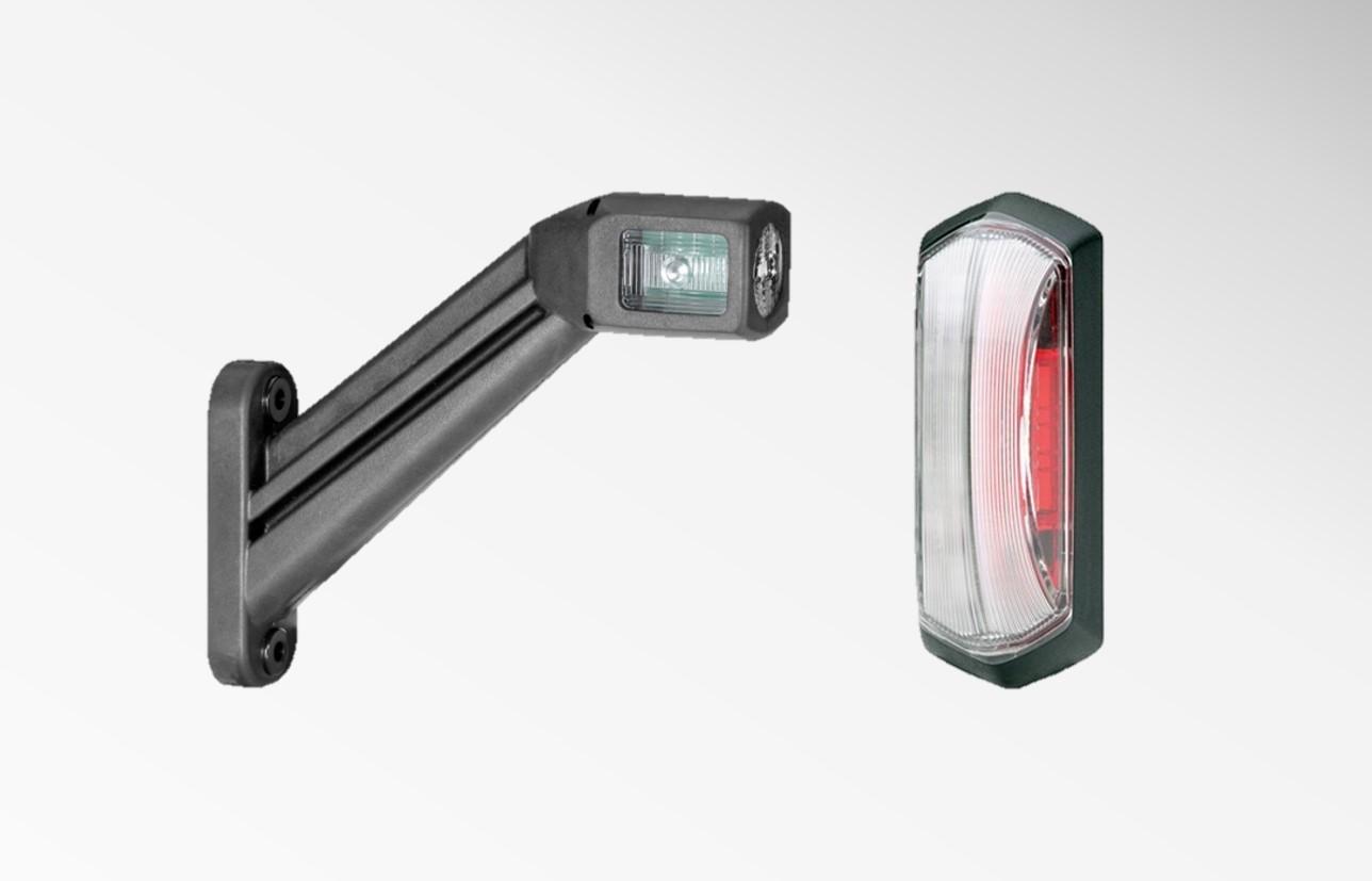 Contour - breedte - positielampen zijkant